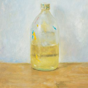 'Linseed Oil'. Oil on board. 12 x 14 inches.