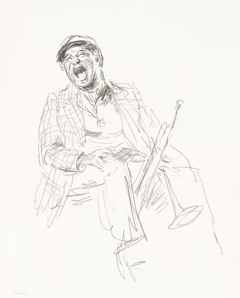 Jazz. Pencil drawing