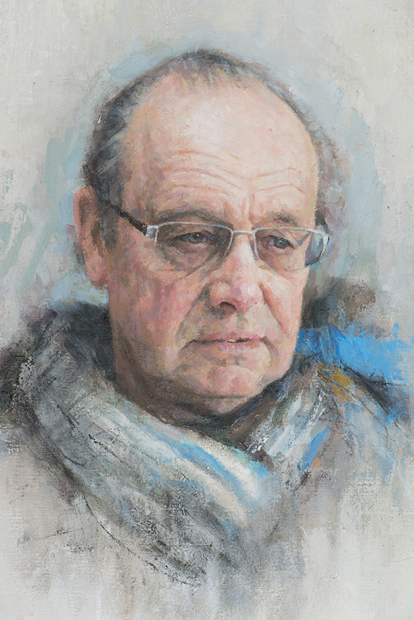 Paul. Oil 30x40cm.